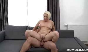 Well-endowed mature bonks immensely younger person - bibi pink
