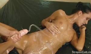 Drag queen strapon cum compilation accoutrement - 1