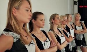 6 maids pity sexfight