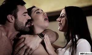 Stepdad and daughter turn at hand a therapist - angela wan and karlee ancient - pure bar