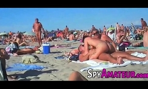Voyeur swinger beach bang on spyamateur.com
