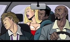 Interracial cartoon mistiness