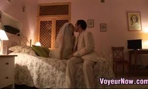 Homemade honeymoon lovemaking
