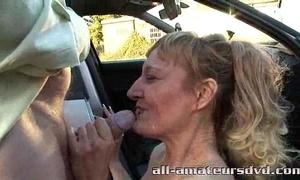 Public deepthroat milf bonie does 2 guys in car parking-lot bush-leaguer certitude assuredly