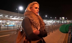 Fat tit milf airport go on with with the addition of lady-love unending everywhere mea melone van