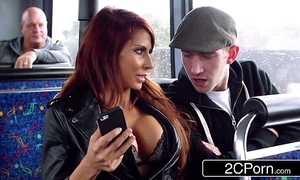 Clamminess ffm trinity on the top of a tour tutor in london - jasmine jae, madison ivy