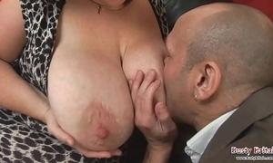 Big tits full-grown roxy j acquires screwed