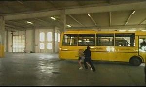 The school bus serving-man #1
