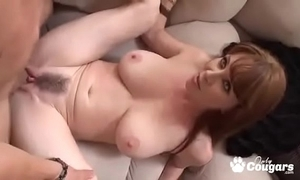 Grown up milf rayveness receives a wettish load shot at unaffected by her soft muff
