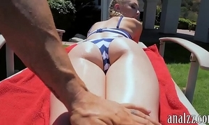 Sexy amateur gf receives anal team-fucked completed