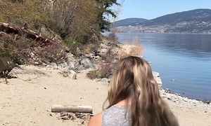 Public littoral intercourse - we hither got caught!! - liamssociety risk 1