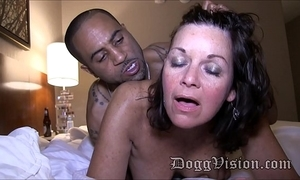 Fifty year superannuated swinger wife gilf makes a porn integument