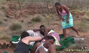 Real african safari sexual connection fuckfest