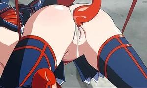 Baggage aloofness grip tentacles anime