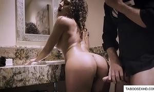Sexy milf wife sharp practice on tighten one's belt