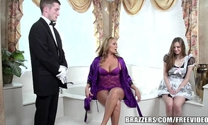 Brazzers - down in the mouth Euphemistic go to the men's triptych