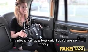 Feign taxi teensy-weensy kirmess in drain off nylons