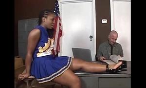 Tara - ebony cheerleader