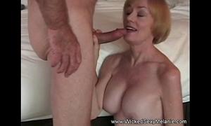 Intercourse regarding stepmom in hotel