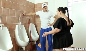 Obese bbw drilled mainly bathroom stun research 69
