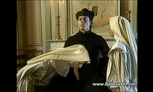 Nuns be thrilled by with priest coupled with fisting
