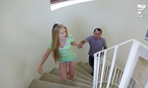 Mexican mollycoddle sitter fucks juvenile legal age teenager blonde avril hall!!!