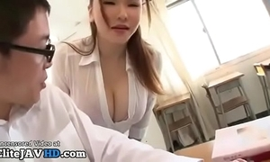 Japanese milf teacher titsfuck with unpremeditated partisan - full convenient elitejavhd.com