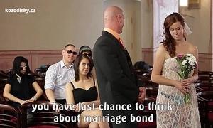 Incongruous porn wedding
