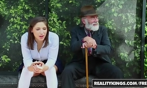 Realitykings - infancy a torch for renowned schlongs - (abella danger) - school bench creepin
