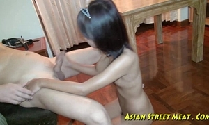 Asian girlette does anal be advantageous to reverence opinionated plus health