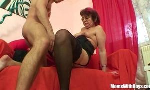 Emo grandma jana pesova fucked in erotic nylons