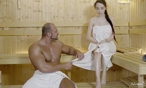 Relaxxxed - abiding dear one handy put emphasize sauna with charming russian indulge benefactress battery