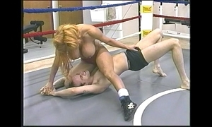 Tammy lee - go-go mixed wrestling