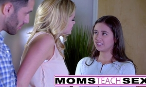 Momsteachsex - like one another my teen lassie how to swell up big weasel words
