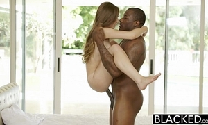 Blacked close-matched youthful latitudinarian skye west first interracial
