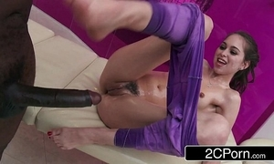 Teen riley reid's big black cock massage