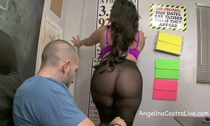 Sloppy footjob coupled with oral-service in pot-pourri with angelina castro!?