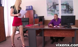 Sexy comme ‡a vanda lecherousness there nylons place footjob increased by coitus