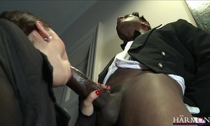 Harmonyvision liza del sierra takes a chubby load of shit with regard to will not hear of arse