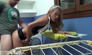 German maid succeed in fucked