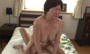 Seventy five time elderly granny