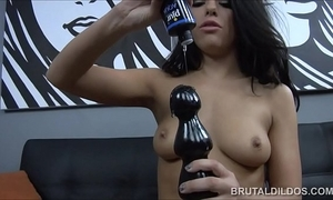 Incredible adriana chechik brutal dildo prolapsing
