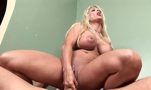 Lady got not fair masturbating coupled with fucked permanent