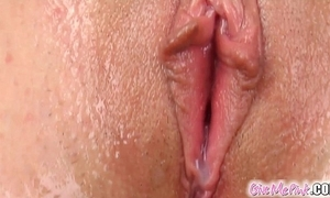 Give me pink bungling introduces cucumber to nubile snatch