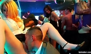 Sexy honeys shafting at a copulate sexual relations border