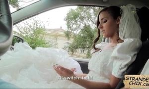 Link up fucks lucky pauper check a investigate wedding styled off amirah adara.1.1