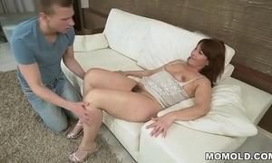 Soft grandma vs chubby youthful dick