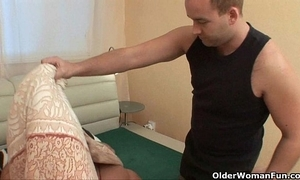 Old woman needs cum added with reference to she knows how with reference to trapped