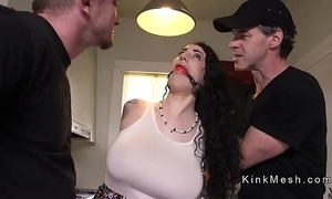 Huge tits alt servant acquires anal drilled