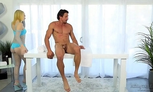 Remedial penis massage - trillium with an increment of tommy gunn